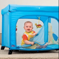 00 061689 800 000 Кровать-манеж  Open Sea Square Playpen Mikko