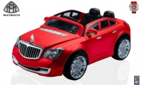 А 198 Электромобиль Maybach BRABUS 12V  R/C red бордо