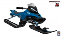 37012 Снегокат Snow Moto X Games MXZ-X Blue