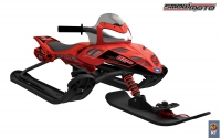 35082 Снегокат Snow Moto Polaris Dragon Red
